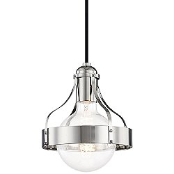 Violet 8.75 Inch Pendant Light