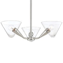Isabella Three Light Semi-Flush Mount Ceiling Light