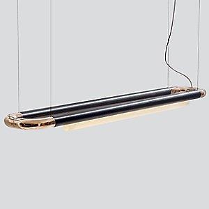 Pipeline CM6 LED Linear Pendant Light by ANDlight
