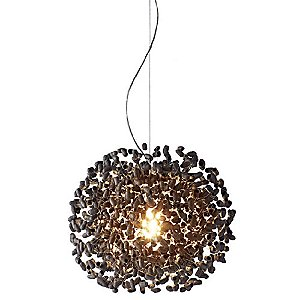 Midnight Moon Suspension Light by Ango