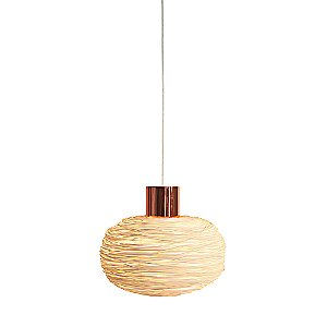 Unit Rattan Pendant Light by Ango