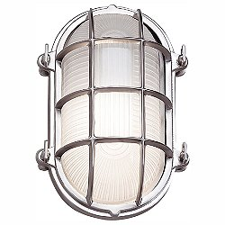 Mariner Outdoor Oval Wall Sconce (Chrome) - OPEN BOX RETURN