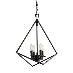 Trapezoid Cage Pendant Light