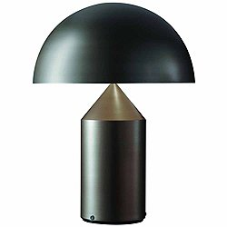 Atollo Bronze Table Lamp by Oluce (Large) - OPEN BOX RETURN