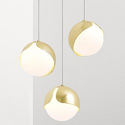 Ohm 3 Multi-Light Pendant Light