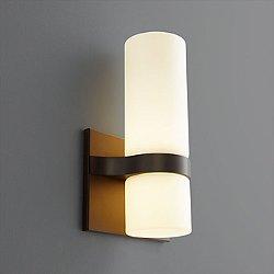 Olio LED Cylindrical Wall Sconce