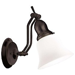 Adjustables 6-Inch Vanity Light