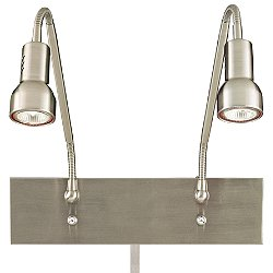 Save Your Marriage 2 Light Low Voltage Task Wall Lamp
