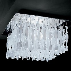 Avir 30 Flush Mount Ceiling Light