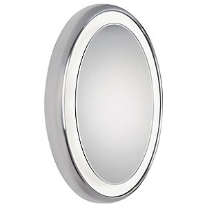 Tigris Surface LED Oval Mirror by Tech Lighting