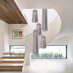 Solis 5 Mixed Multi-Light Pendant Light