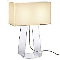 Tube Top Table Lamp (White/Clear/Medium) - OPEN BOX RETURN