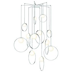 Bola Halo 12-Light Multi-Light Pendant Light