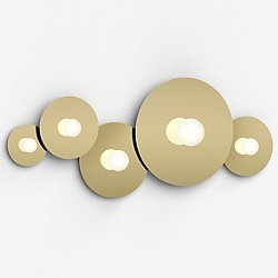Bola Disc LED Multi-Light Flush Mount Wall / Ceiling Light