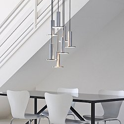 Cielo LED Multi-Light Pendant Light