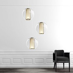 Bel Occhio Multi-Light Pendant Light