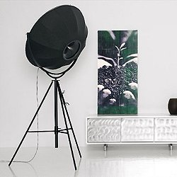Fortuny Floor Lamp - Black
