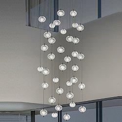Jefferson LED 36-Light Mini Multi-Light Pendant Light