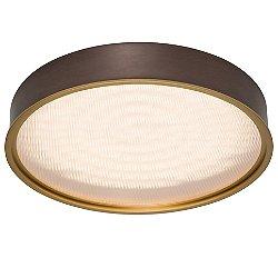 Pan Round LED Flush Mount Ceiling Light