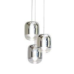 Gong Mini Round 3-Light Pendant Light
