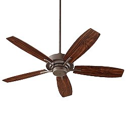 Soho 52 Inch Ceiling Fan (Oiled Bronze & Walnut) - OPEN BOX