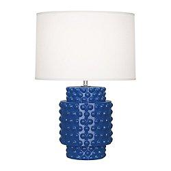 Dolly Accent Lamp (Marine Blue Ceramic) - OPEN BOX RETURN