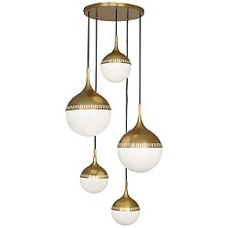 Rio Multipoint 5 Light Chandelier