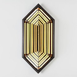 Stella Wall Sconce - Hexagon