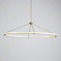 Halo Oval Pendant Light