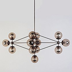 Modo Diamond Chandelier - 13 Globes