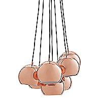 Ball Multi Chandelier (Copper) - OPEN BOX RETURN