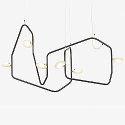Palindrome 6 Light LED Chandelier