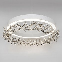 Halo Criss Cross LED Chandelier