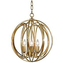 Ofelia Pendant (Gold Leaf/Large) - OPEN BOX RETURN