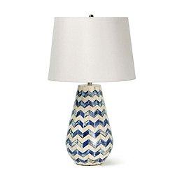 Coastal Living Cassia Chevron Table Lamp