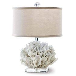 Ribbon Coral Mini Table Lamp