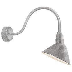 Angle Reflector Indoor/Outdoor Wall Sconce