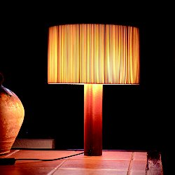 Moragas Table Lamp (Raw Cotton Ribbon) - OPEN BOX RETURN