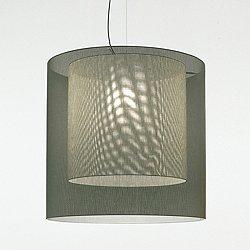 Moare XL Double Shade Pendant Light