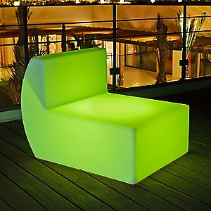 Down Lighted Lounge Chair by Smart & Green