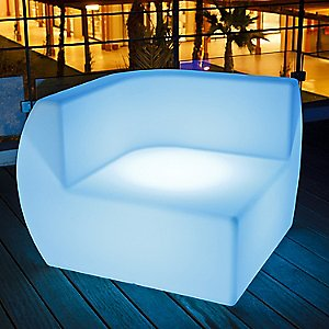 Side Lighted Lounge Chair by Smart & Green