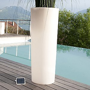 Tango L Lighted Planter by Smart & Green