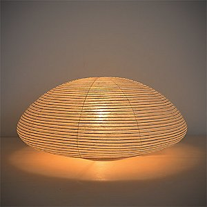 Paper Moon Saucer Table Lamp - OPEN BOX RETURN by Asano