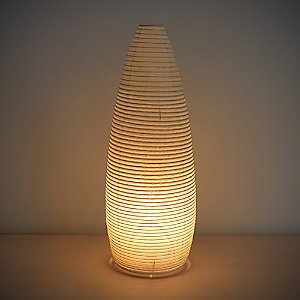 Paper Moon Cone Table Lamp by Asano