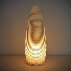 Paper Moon Cone Table Lamp