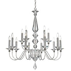 Jasmine 15-Light Chandelier