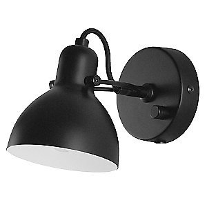 Laito Wall Sconce (Matte Black) - OPEN BOX RETURN by Seed Design