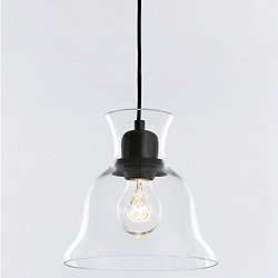 Salute Clear Pendant Light