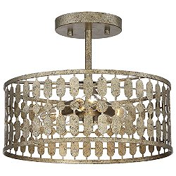 Harper Semi-Flush Mount Ceiling Light