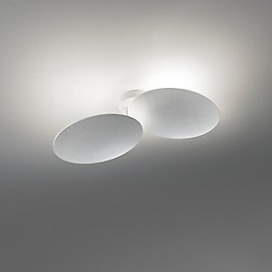 Puzzle Round Double Wall/Ceiling Light by Studio Italia Design